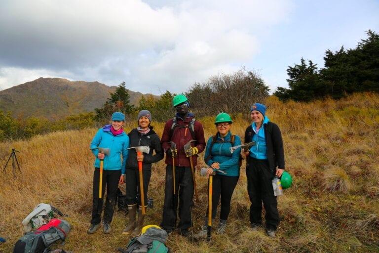 Alaska volunteers